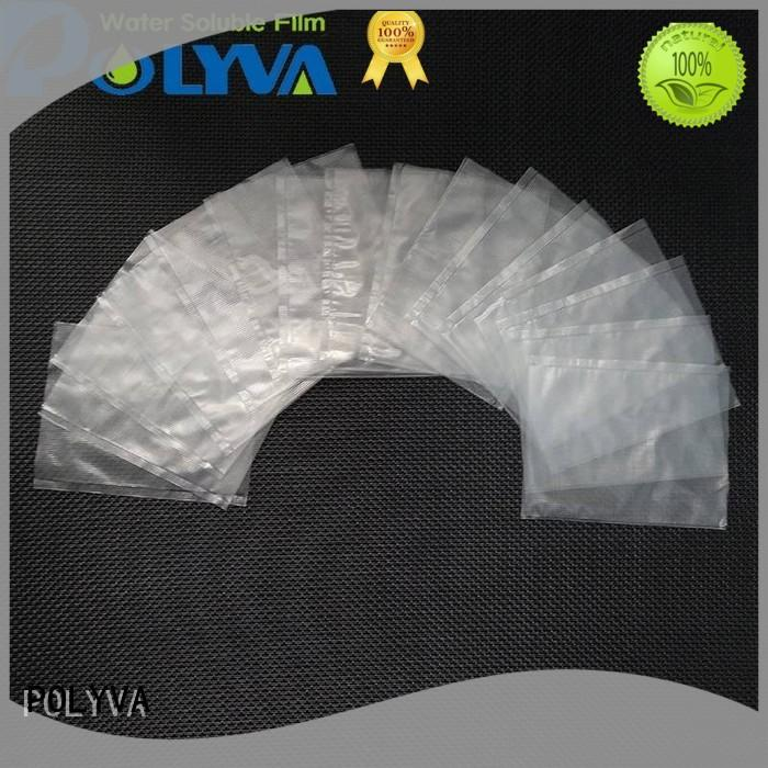 POLYVA water soluble plastic bags wholesale for granules