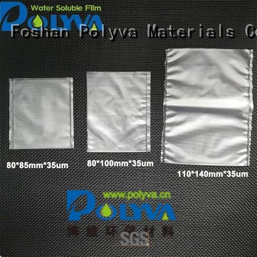 individually alcohol POLYVA Brand water soluble bags for ashes