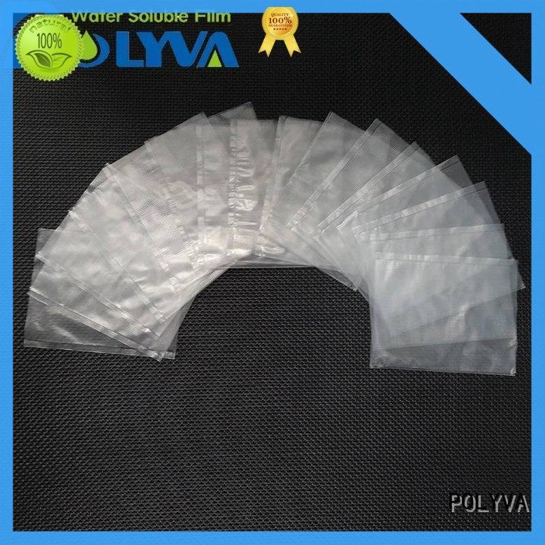 POLYVA dissolvable bags wholesale for granules