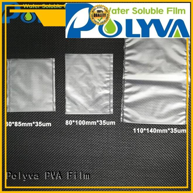 water soluble bags for ashes environmentally pesticide POLYVA Brand