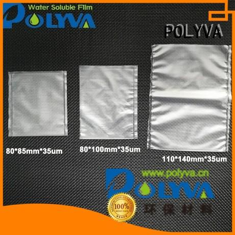 POLYVA Brand fertilizer granules custom water soluble bags for ashes
