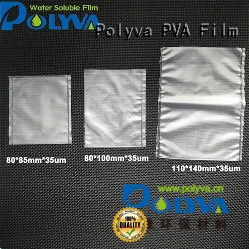 Quality POLYVA Brand individually dissolvable plastic