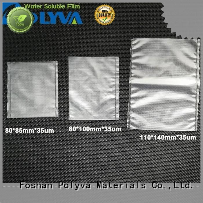 POLYVA professional dissolvable bags factory for granules