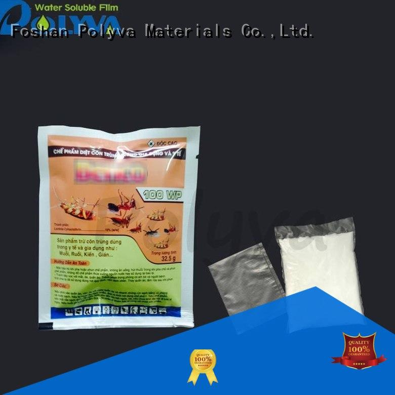 water soluble bags infection control factory price for agrochemicals powder POLYVA